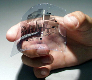 HDTV inkjet printed flexible display