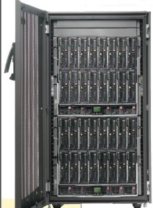 With 16 dual processors,HP Blade servers supply the data power needed for the Océ JetStream 2200 twin system.